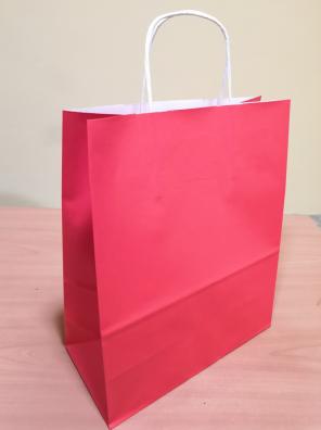 Papírová taška červená