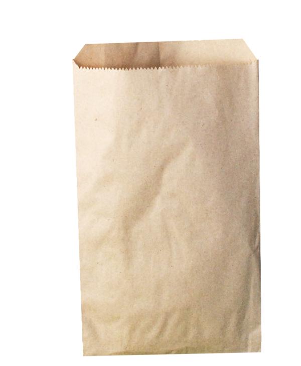 papírový sáček hnědý
