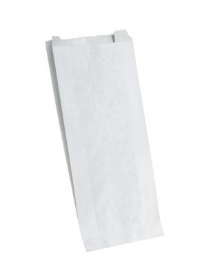 papírový sáček bílý